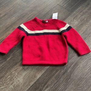 4/$20 Boys Teddys Choice Knit Sweater 12 mth NWT